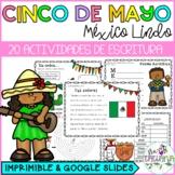 Cinco de Mayo   Actividades de Escritura   Google Slides