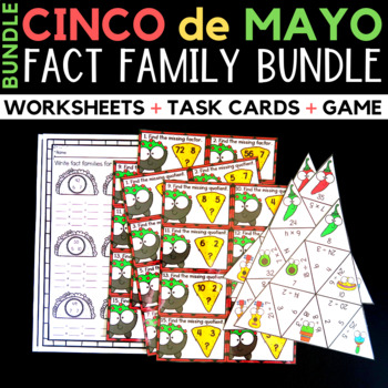 Cinco de Mayo Activities Bundle