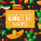 Cinco de Mayo Activities - Cinco de Mayo Book, Crafts, and