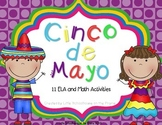 Cinco de Mayo Activities - ELA and Math
