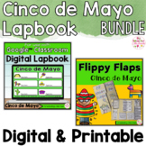 Cinco de Mayo Activities Interactive Notebook Digital and