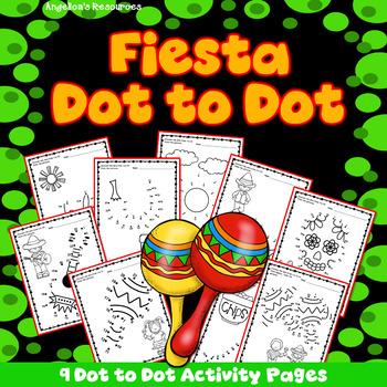 Cinco de Mayo Activities : Number Sense - Dot to Dot - Counting