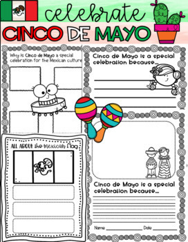 Cinco de Mayo Activity Pack