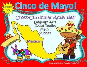 Cinco de Mayo Activity Pack (Grades 3-5)