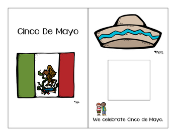 Cinco de Mayo Adapted Book