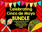 Cinco de Mayo Adapted Book, Photo Booth Props, & Activity Bundle