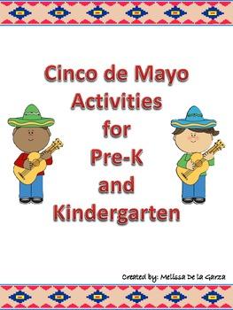 Cinco de Mayo Alphabet and number activity