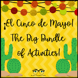 Cinco de Mayo BUNDLE of activities, Spanish!