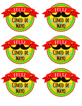 Cinco de Mayo Badges