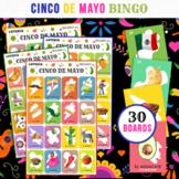 Cinco de Mayo Bingo   Mexican Loteria   Includes 30 Cards