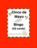 Cinco de Mayo Bingo- Spanish