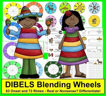 Cinco de Mayo Literacy Centers:  Blending Build A Word Whe