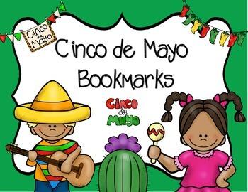 Cinco de Mayo Bookmarks