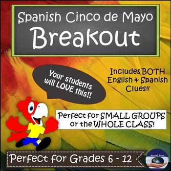 Spanish Cinco de Mayo BreakoutEDU