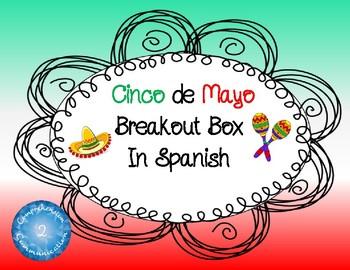 Cinco de Mayo Breakout Box in Spanish