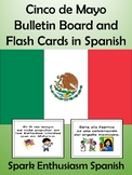 Cinco de Mayo Bulletin Board and Flash Cards in Spanish