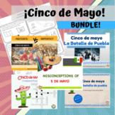 Cinco de Mayo Bundle! (Lesson plans, coloring books, power