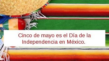 Cinco de Mayo - Cierto o Falso (True or False)