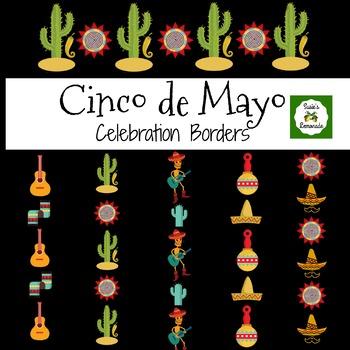 Cinco de Mayo Clip Art Borders