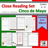 Cinco de Mayo: Close Reading (3 texts, identify bias, main