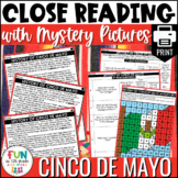 Cinco de Mayo Close Reading Comprehension Activity | PRINT