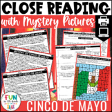 Cinco de Mayo Close Reading Comprehension w/ Mystery Picture Activity