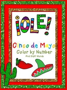 Cinco de Mayo ~ Color by Number