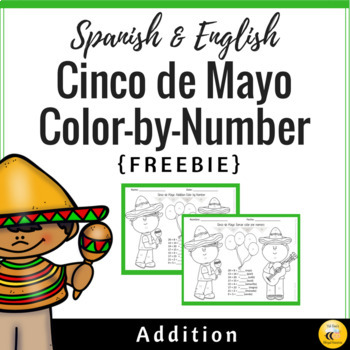 Cinco de Mayo Color by Number (Spanish & English)