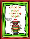 Cinco de Mayo Coloring Sheets