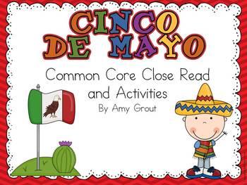 Cinco de Mayo: Common Core Close Read and Activities