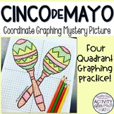 Cinco de Mayo Coordinate Graphing Picture
