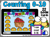 Cinco de Mayo Counting 0-10 ~ BOOM Cards ~ Distance Learning