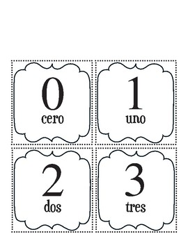 Cinco de Mayo Counting in Spanish Math  - Special Education