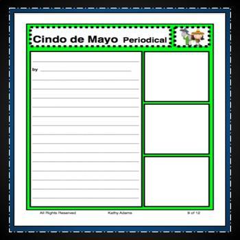 Cinco de Mayo Creative Writing