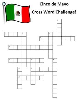 Cinco de Mayo Cross Word Challenge!