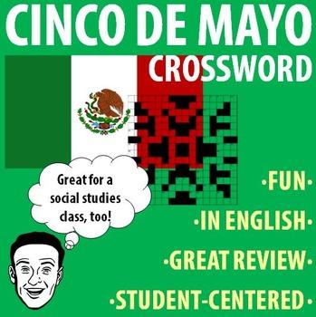 Spanish - Cinco de Mayo - Crossword Puzzle!