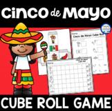 Cinco de Mayo Cube Roll Math Game