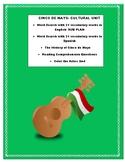 Cinco de Mayo- Cultural Unit- Reading & Questions -Great Unit & SUB plan