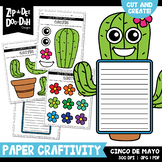 Cinco de Mayo Cut & Create Writing Craftivity {Zip-A-Dee-Doo-Dah Designs}