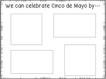 Cinco de Mayo Cut and Paste Activity