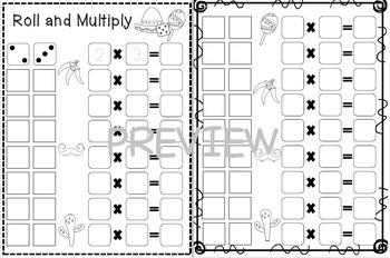 Cinco de Mayo- Dice Multiplication