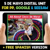 Cinco de Mayo Digital Activities for Google and Seesaw - D
