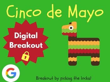 Cinco de Mayo - Digital Breakout! (Escape Room, Scavenger Hunt)
