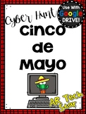 Cinco de Mayo Digital Cyber Hunt for Google Slides Distance Learning
