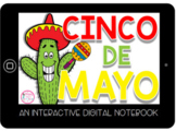 Cinco de Mayo Digital Notebook- Distance Learning PRINT &