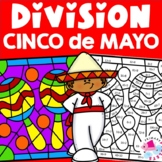 Cinco de Mayo Division Facts Color by Number Set