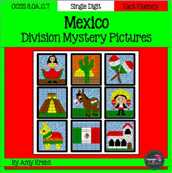 cinco de mayo division mystery pictures mexico by inspiration 4 rh teacherspayteachers com