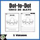 Cinco de Mayo Dot-to-Dot / Connect the Dots