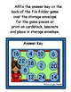 Cinco de Mayo Doubles Addition File Folder Game