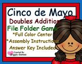 Cinco de Mayo Doubles Addition File Folder Game